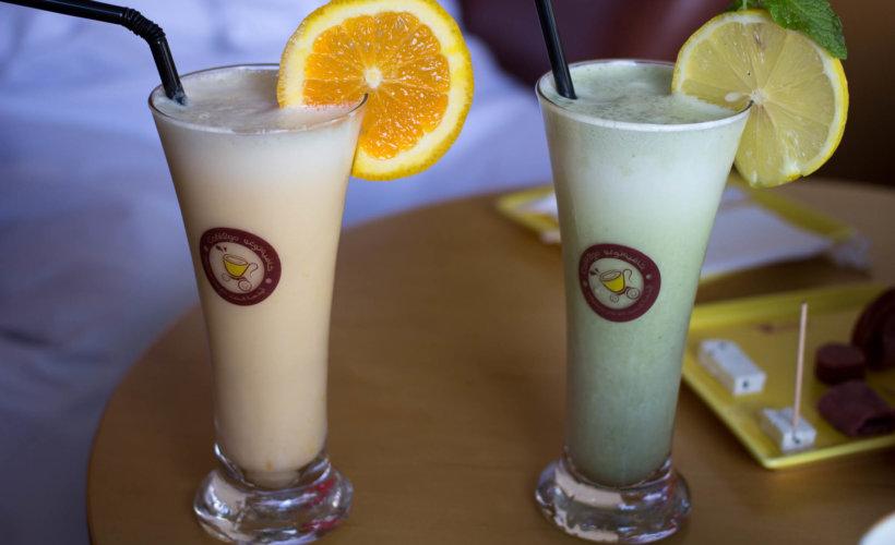 Un petit smoothie au lait de chamelle ? © Krista