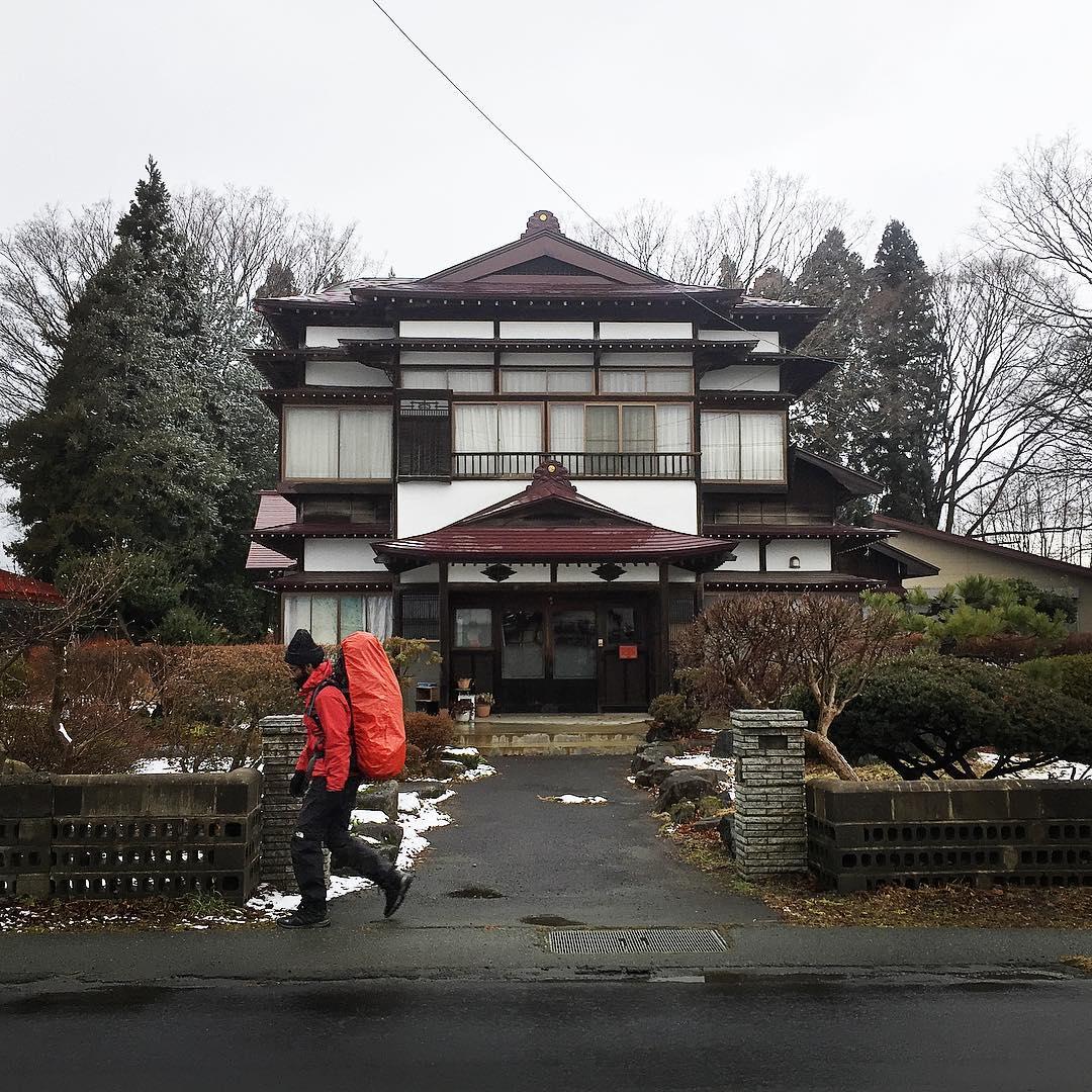 Albara Alohali au Japon © Instagram