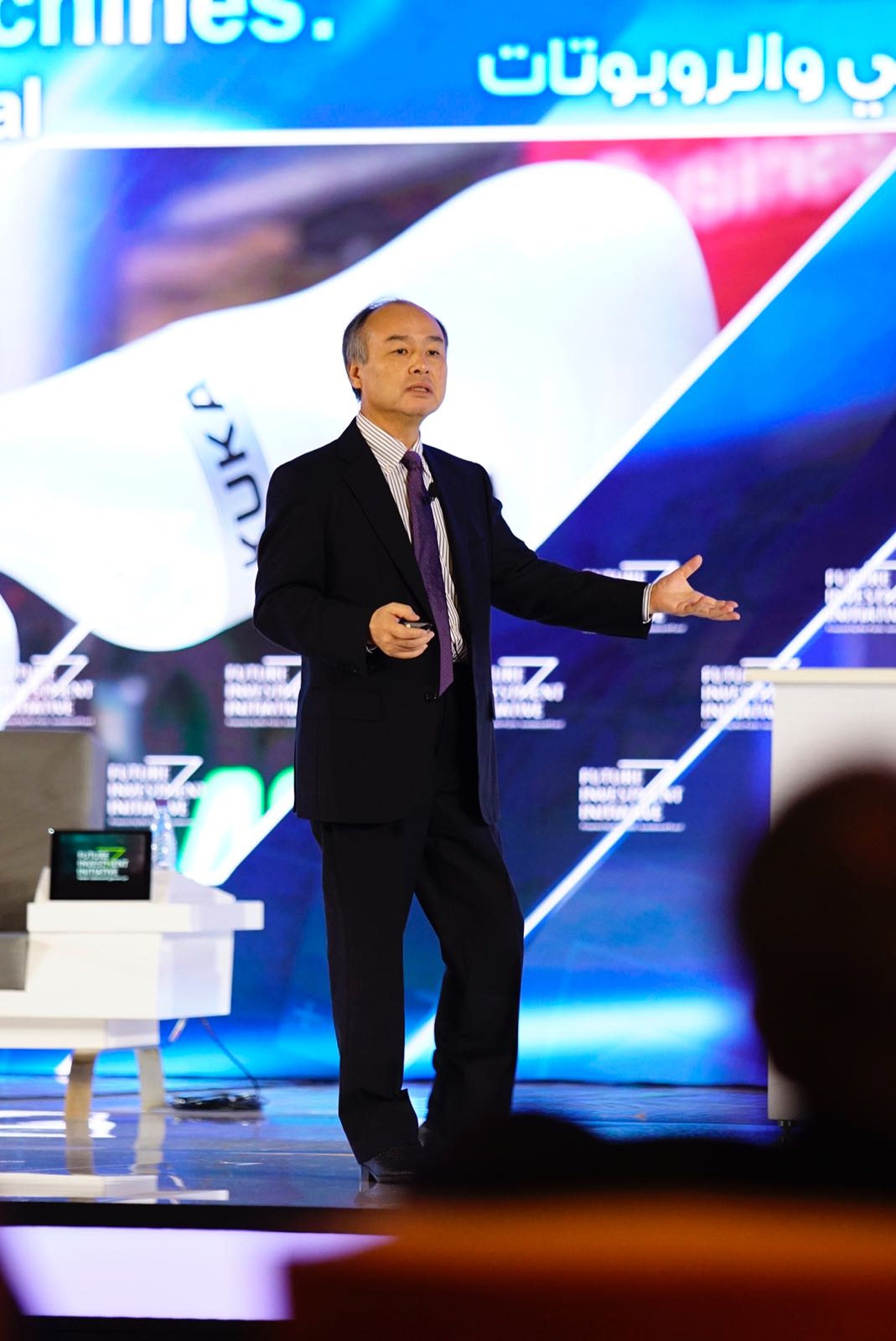 Masayoshi Son, PDG de Soft Bank.
