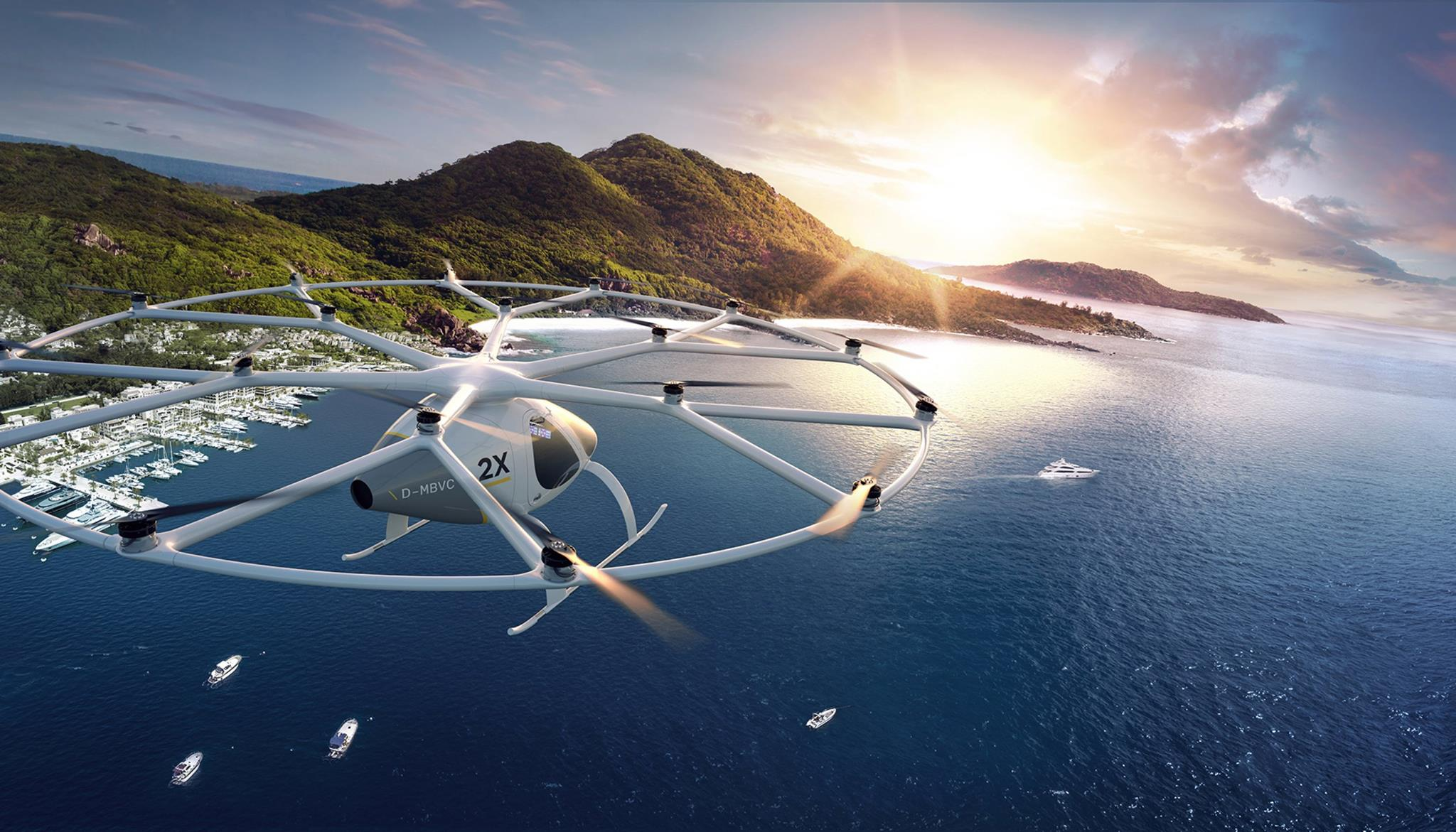Le super-drone de Volocopter © Volocopter
