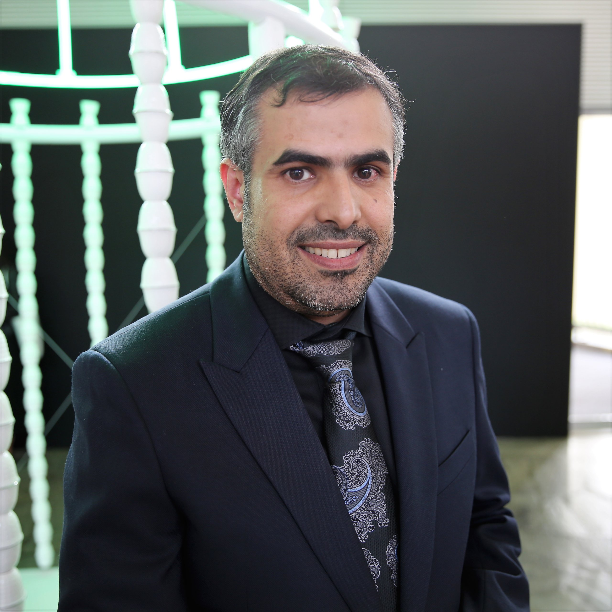 Ahmed Mater, Saudi artist and director of the MiSK Art Institute