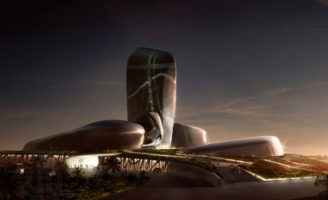architecture, king abdulaziz center