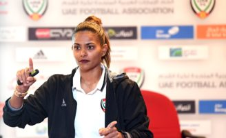 Football: Emirati Houriya Taheri, first Arab woman to join FIFA as an expert © Twitter