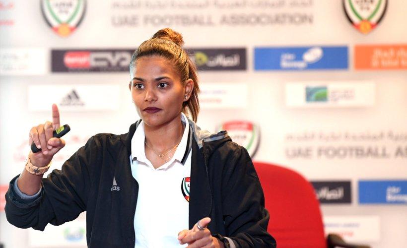 Football : Houriya Taheri, première femme arabe nommée experte de la FIFA © Twitter