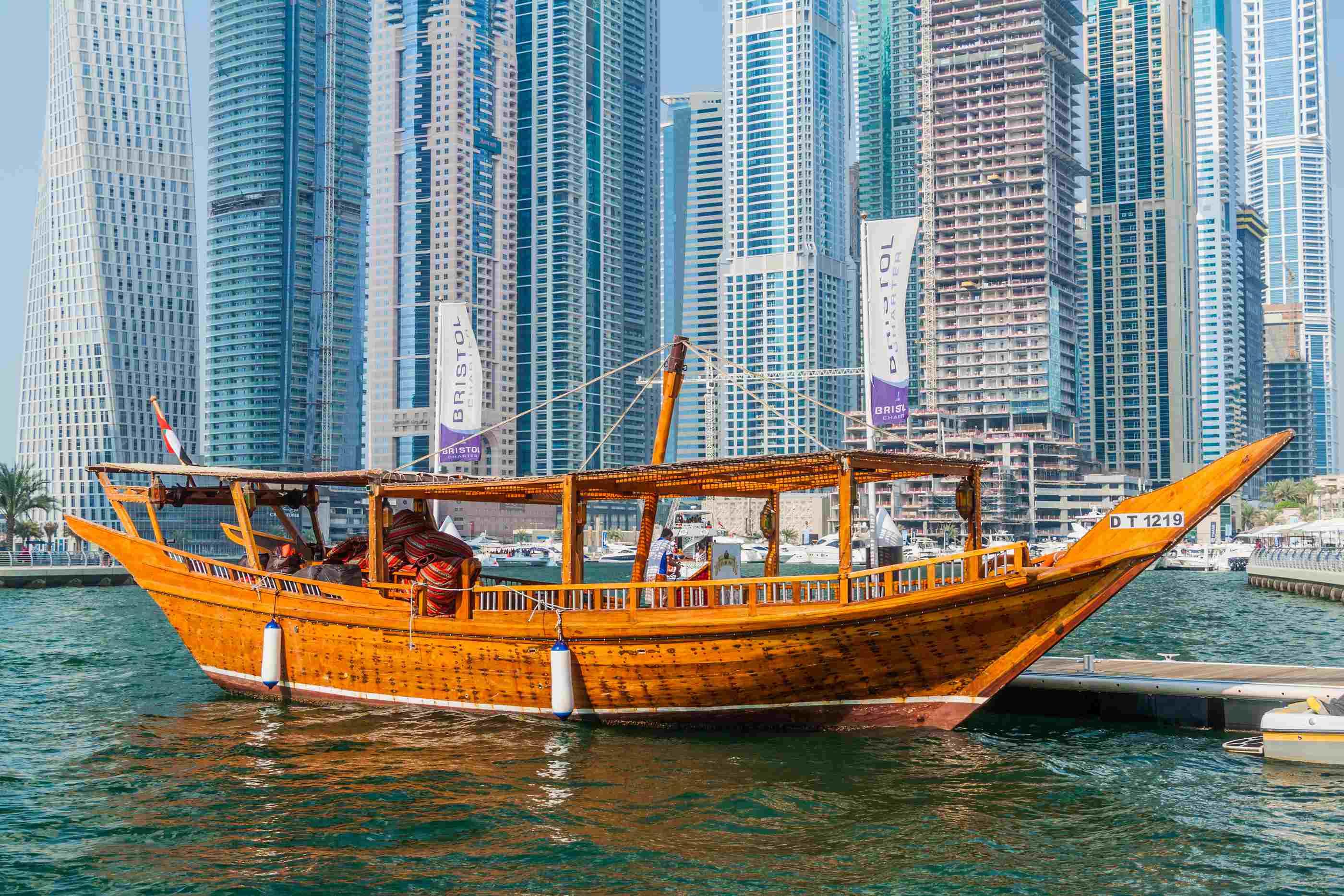 Dubai Wooden boat