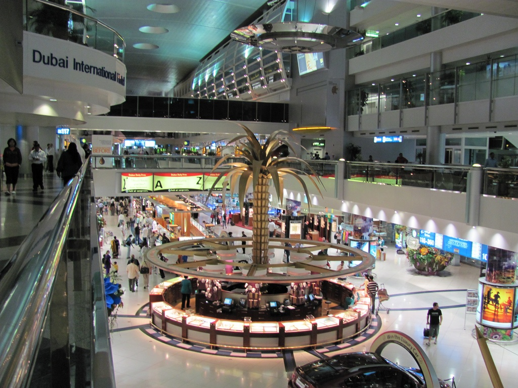 Aéroport international de Dubai.
