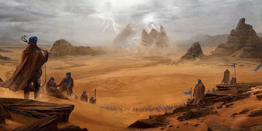 Jordan hosts the shooting of literary saga Dune