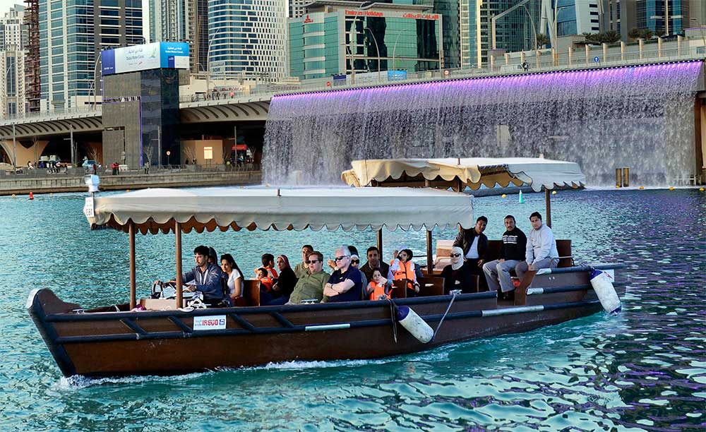 Electric Boat Dubai