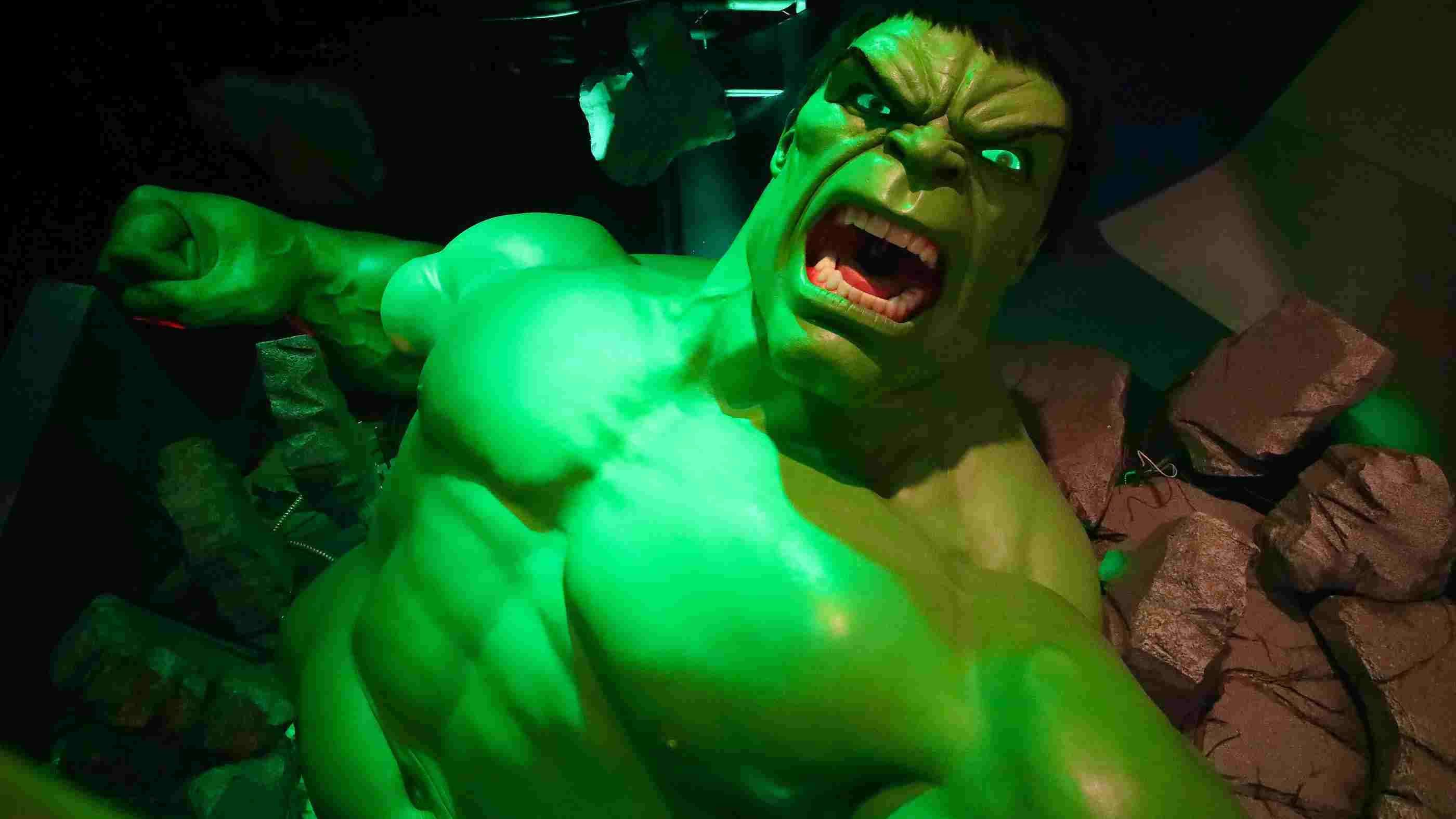 Hulk - Giant Model- Madame Tussauds