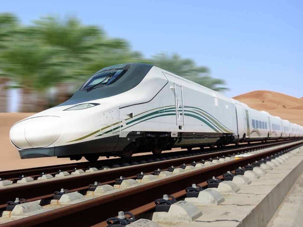 Le train à grande vitesse saoudien © Talgo