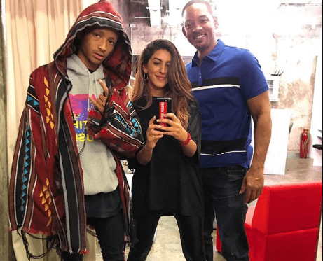 Jaden Smith porte les créations d'Arwa Al Banawi / Photo Instagram @Arwaalbanawi.