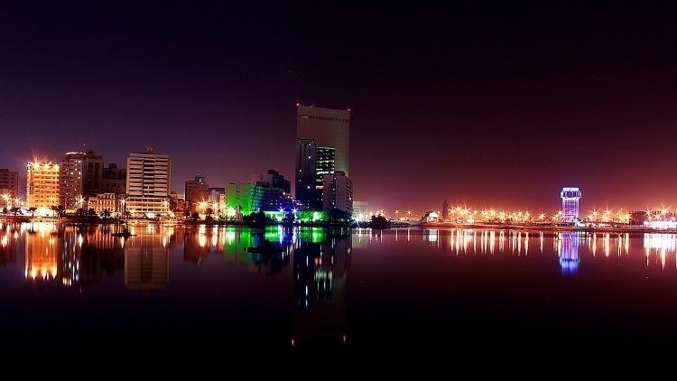 Jeddah's seaside