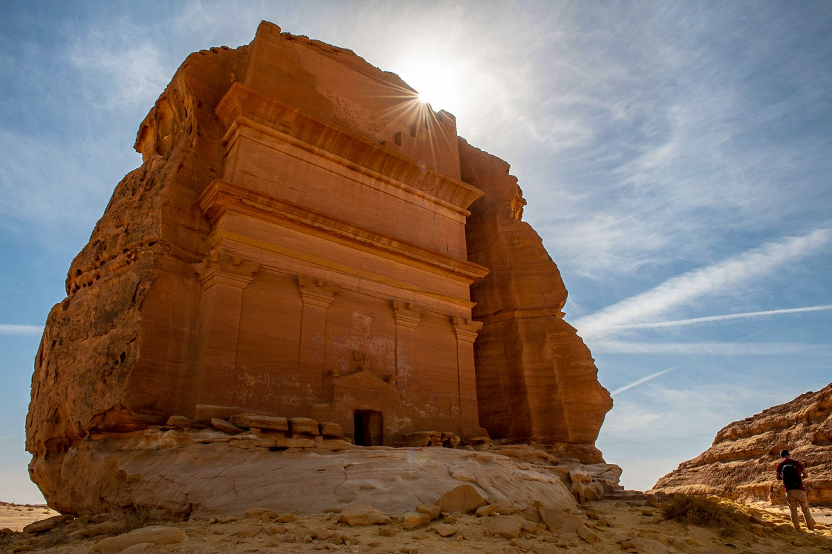 Al-Fareed Rock in Mada'in Saleh