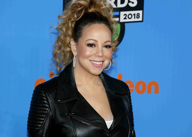 Mariah Carey at the Nickelodeon's 2018 Kids' Choice Awards held