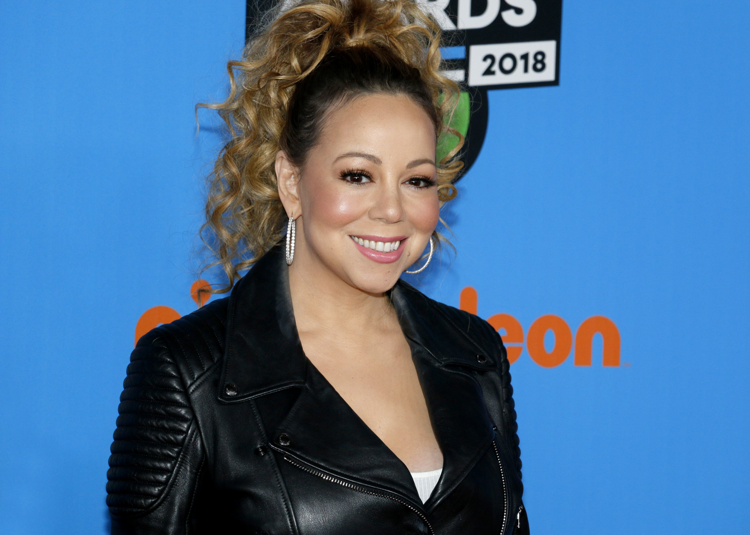 Mariah Carey at the Nickelodeon's 2018 Kids' Choice Awards