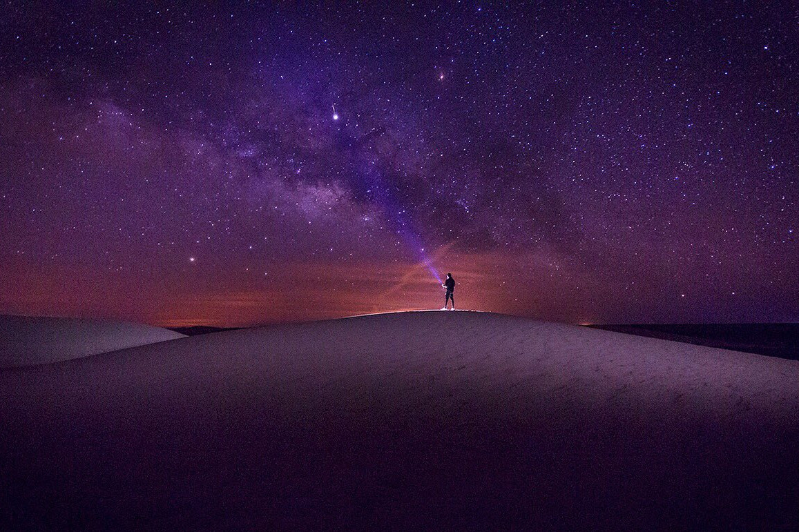 The photographer Mosaad Alkilabi reveals the beauty of the Milky Way