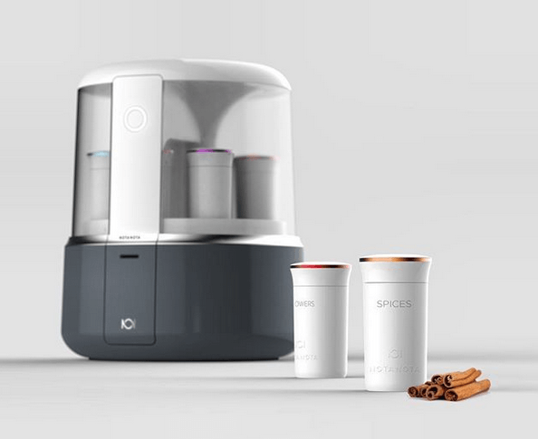 An ultra design machine to create your own perfume