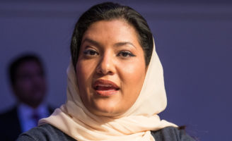 he kingdom has just appointed Princess Reema bint Bandar as the country's ambassador in Washington, USA © World Economic Forum / Boris Baldinger