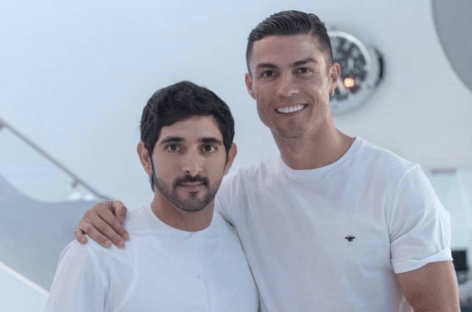 Ronaldo in Dubaï