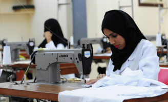 More than 8,000 Saudi women are now working in various industrial cities, which is a rapid growth