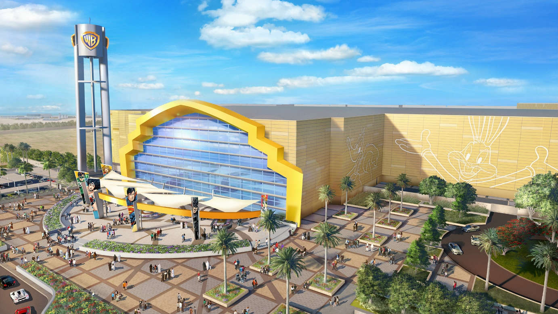 Le nouveau parc d'attractions de la Warner ouvrira ses portes en le 25 juillet à Abu Dhabi © Warner Bros.