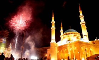 An Arab city in the Top 10 NYE Celebration © AFP
