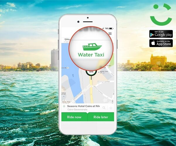 Water taxi, by Careem