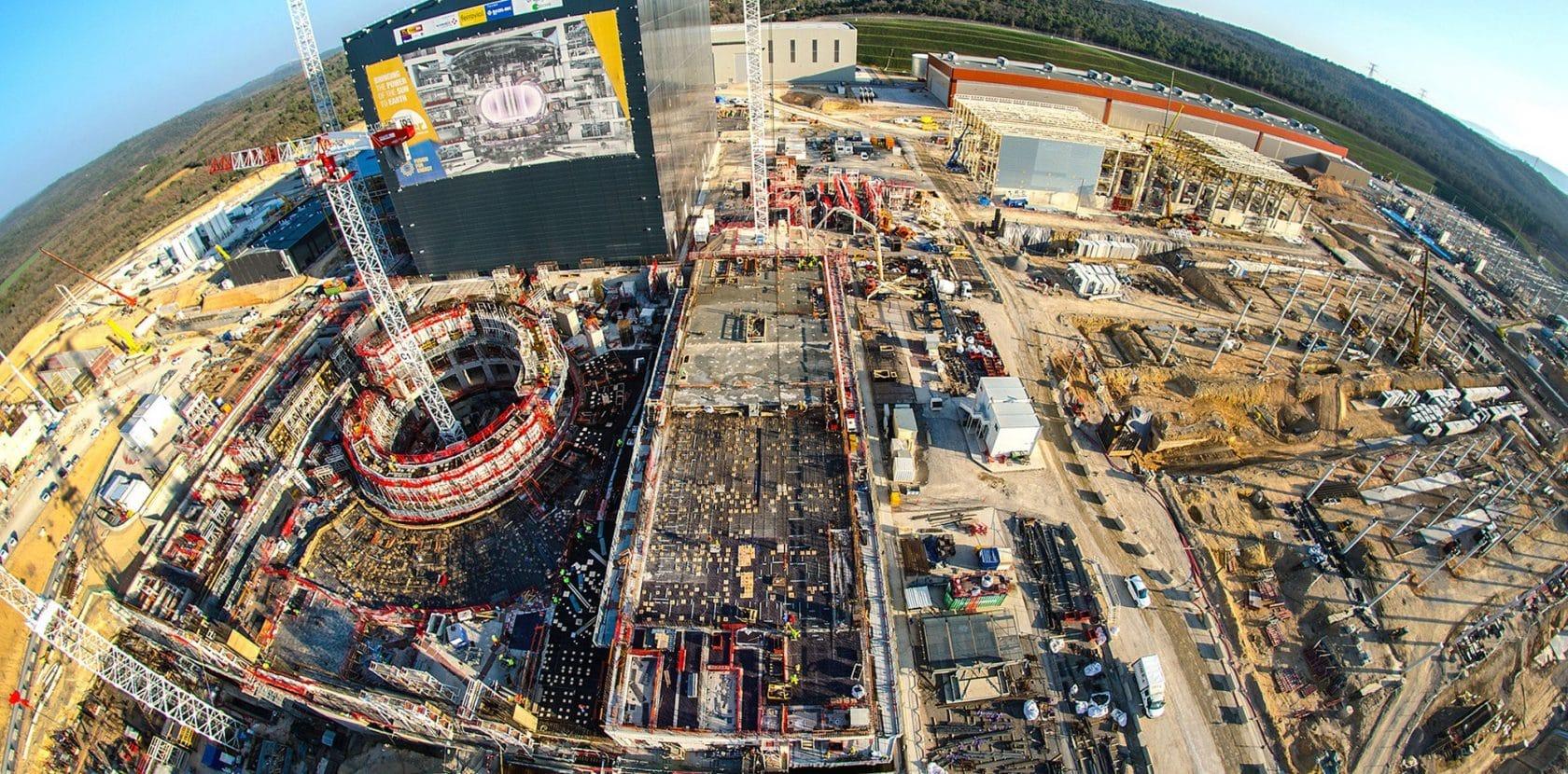 Le chantier de l'ITER © ITER