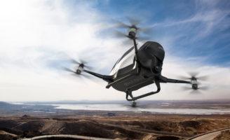 Le EHang 184, premier drone-taxi volant devrait décoller au-dessus de Dubaï © Ehang Inc.