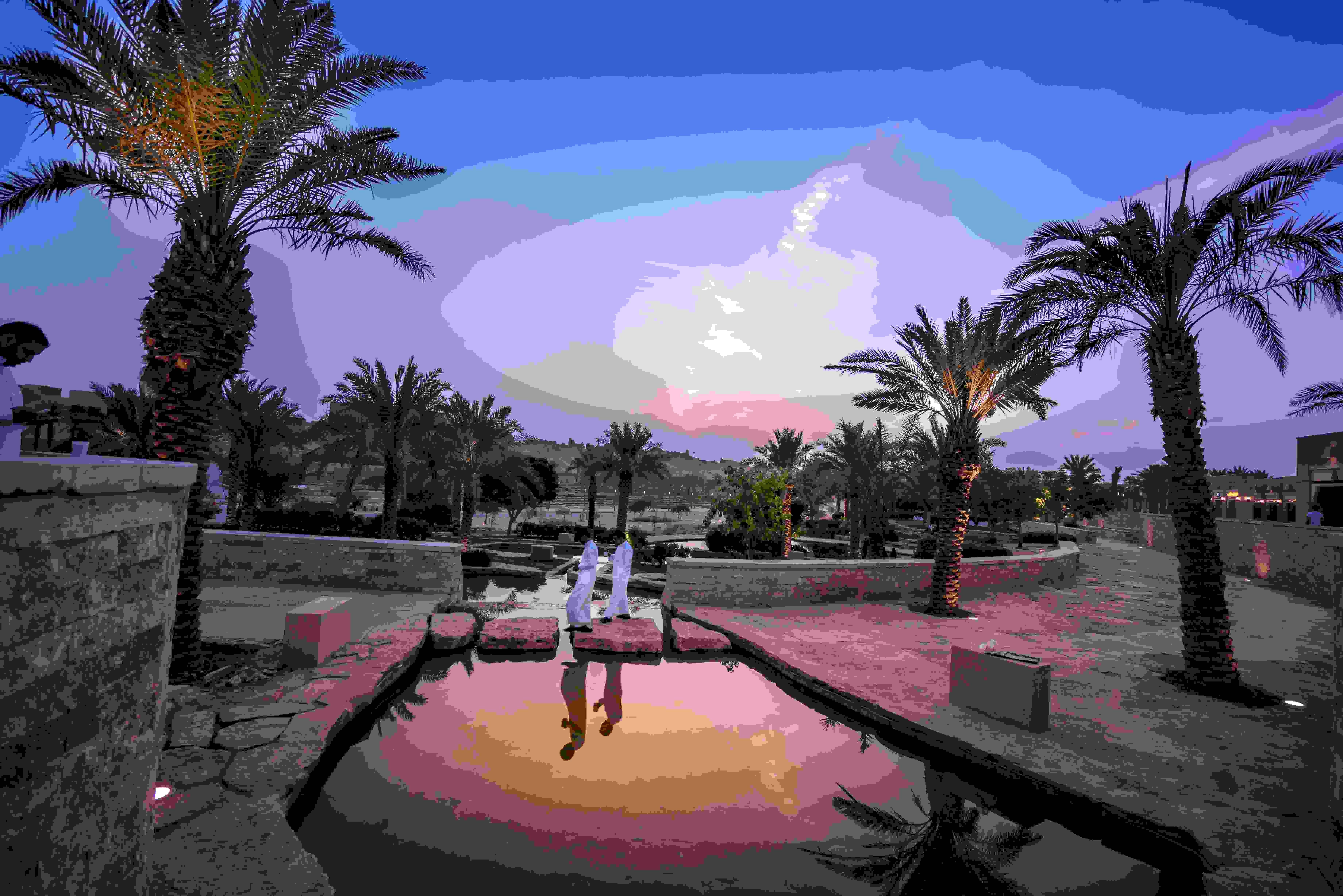 Le quarier Al Bujairi à Riyad. (Crédits photo : Eyeem)