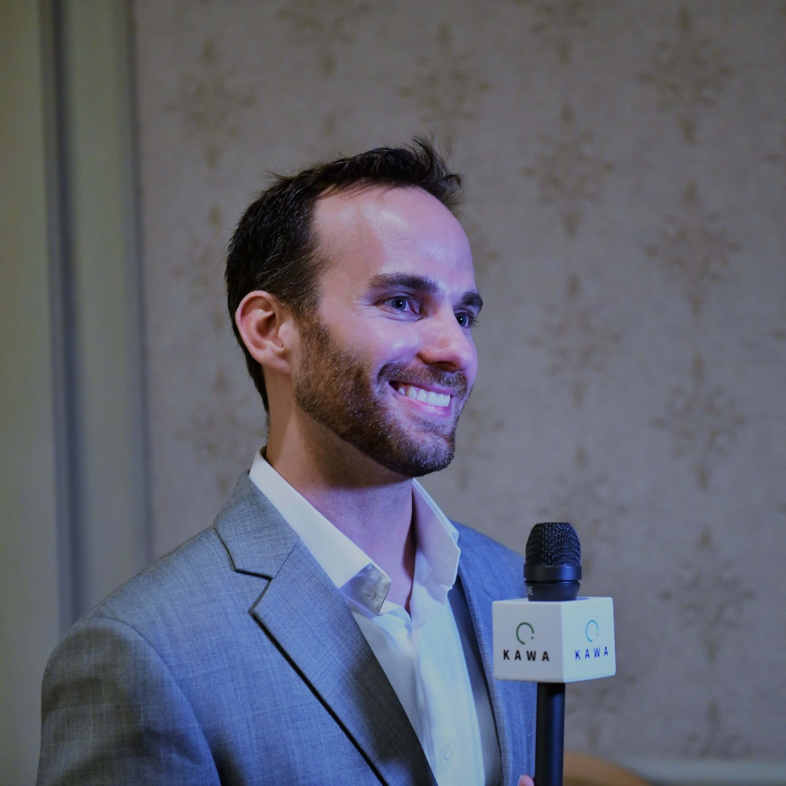 Josh Giegel, co-founder and CTO of Hyperloop One