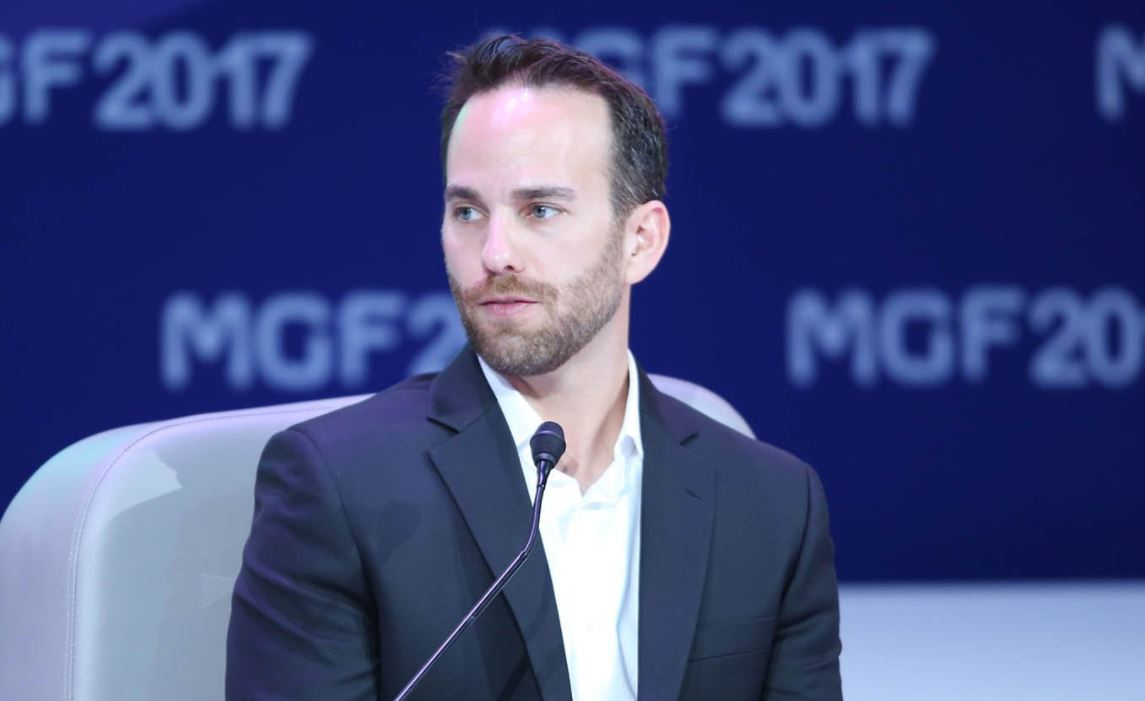 Josh Giegel, co-fondateur et directeur technique de Virgin Hyperloop One
