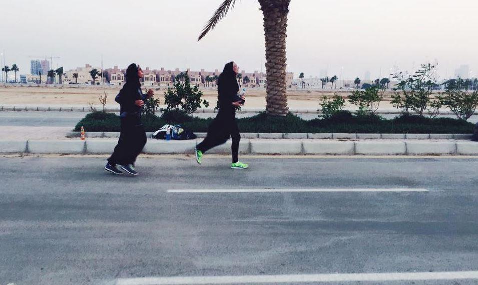Le rassemblement Jeddah Running Collective, fondé en 2013, œuvre pour l'émancipation des femmes par la course © Facebook / Jeddah Run Collective