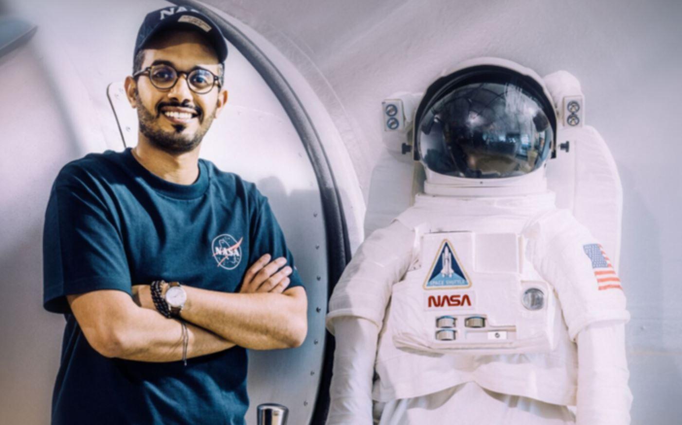 Meshal Al Shahrani est le premier Saoudien à rejoindre la NASA.