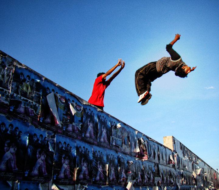 "In Middle East, ""Parkour"" Highlights People and Territories © Spee505"