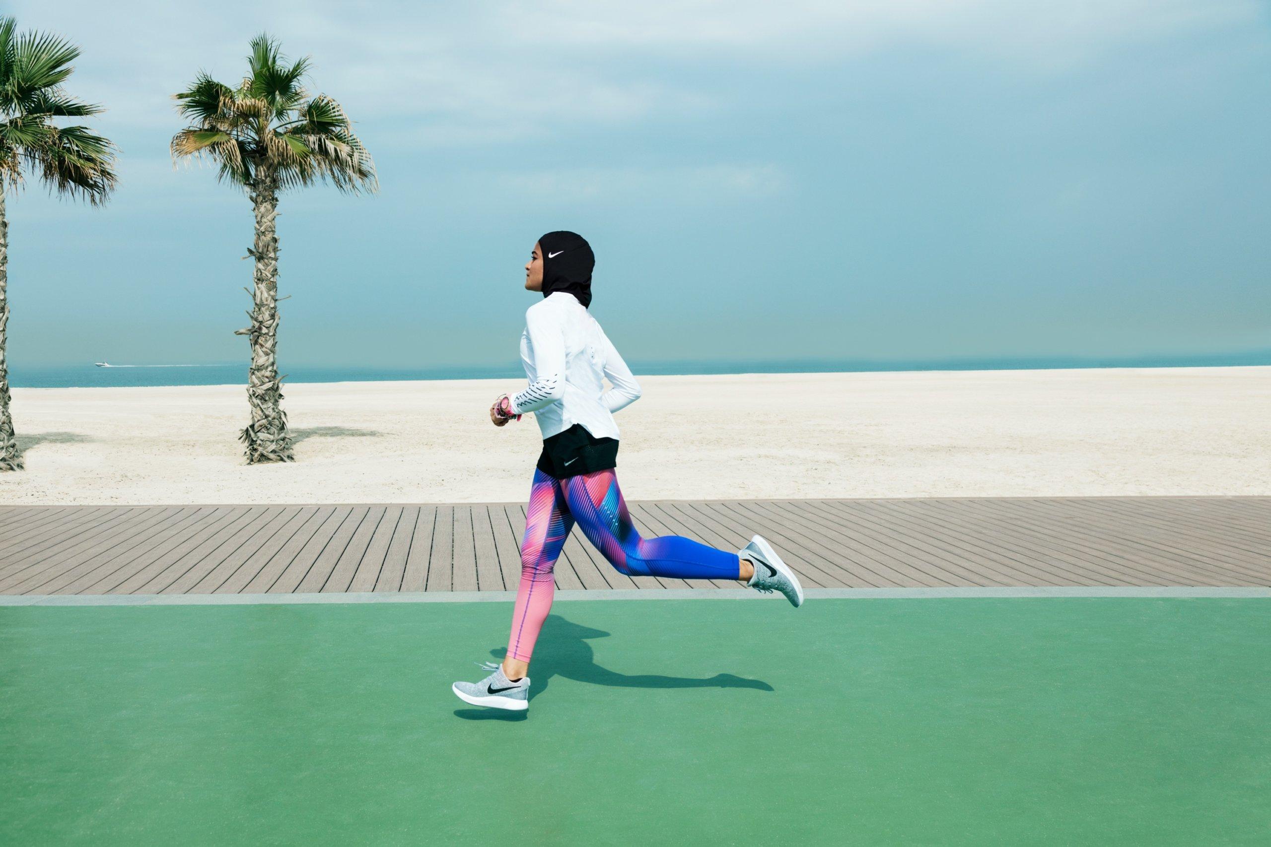 Le Nike Pro Hijab sera disponible en début d'année prochaine.