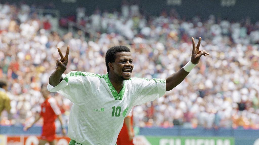 Saeed al-Owairan a porté en 1994 l'Arabie saoudite en huitième de finale de la Coupe du Monde © AP