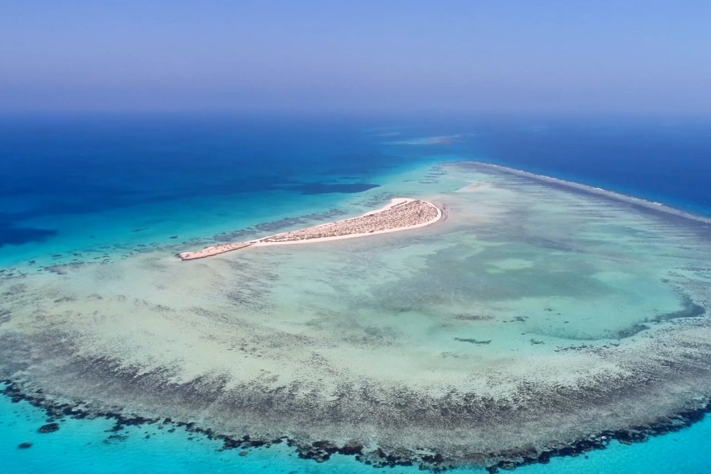 Une île sur la Mer Rouge au large de l'Arabie saoudite © Red Sea Project