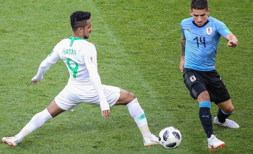 Défaite (0-1) par l'Uruguay, l'Arabie saoudite est éliminée de la Coupe du monde © Saudi Nation Team