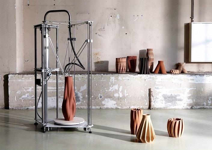 Les céramiques 3D d'Olivier van Herpt