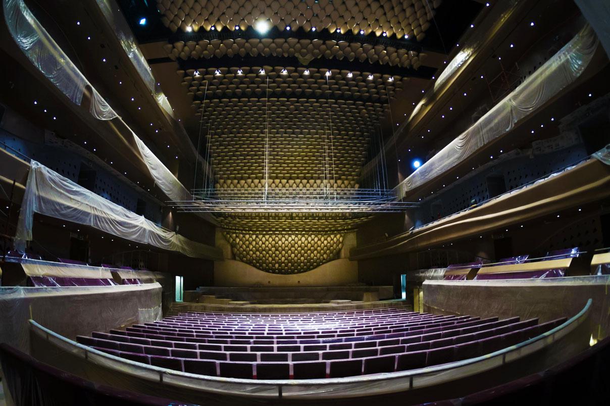 Le Centre culturel de Sheikh Jaber Al Ahmad © Sheikh Jaber Al Ahmad Cultural Centre