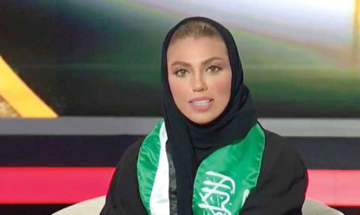 Weam Al Dakheel, first Saudi woman to present news host on TV
